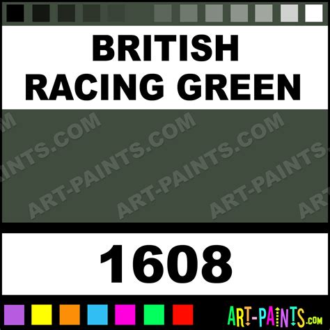 racing green paint code car interior design