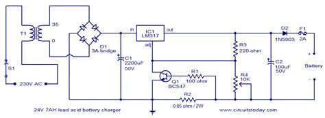 Power Supply Switcher A30 25ah 24v铅酸电池充电器电路图 电路图 中国百科网