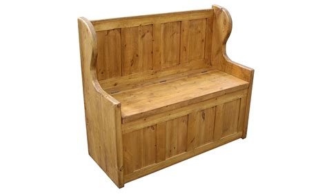 wooden monks bench monks bench