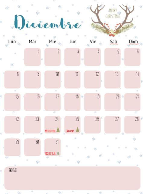 Calendario De Diciembre Calendario De Diciembre Imprimible Mi Ventana Favorita