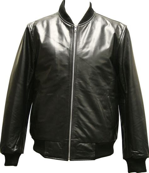 leather bomber jacket mens real leather bomber baseball style with a varsity look