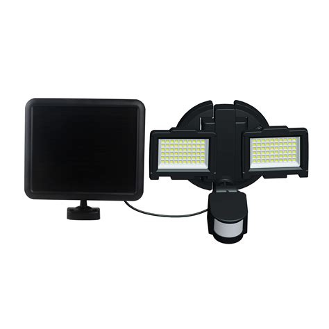 solar outside security lights nature power 120 led dual l outdoor solar security