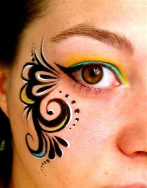 tribal pattern face paint face art picmia