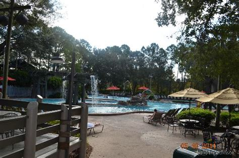 disney port orleans quarter pool area with 51 foot