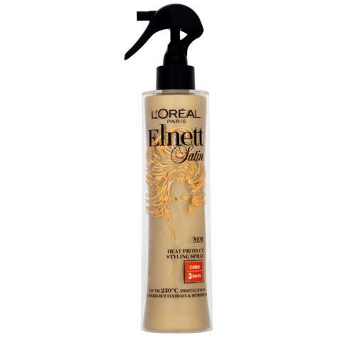 Sho Loreal 170 Ml l oreal elnett satin heat styling spray curl 170ml free shipping lookfantastic