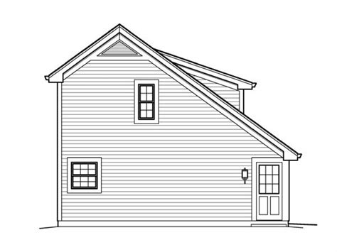 saltbox cabin plans saltbox garage plans with loft country saltbox garage