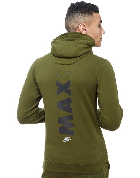 Cotton Lab Essential Hoodie Zipper 2 Tone Maroon 1 lyst nike air max 1 2 zip hoody in green for