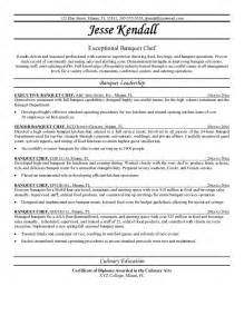 Chef Objective Resume by 42 Exles Of Chef Resume Template Vntask