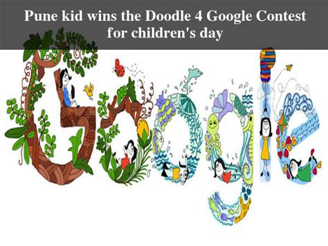 doodle for contest india presents children s day doodle careerindia