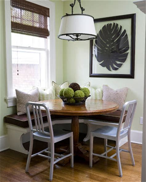 small breakfast nook furniture comfort luxury how the navy introduced me to designer