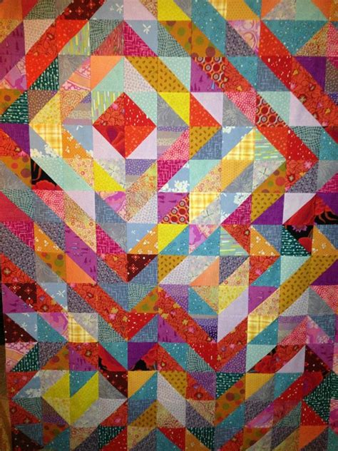 Half Triangle Quilts by 17 Best Images About Half Square Triangle Quilts On