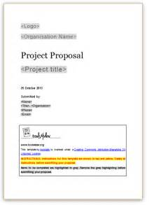 propsal template template free printable documents