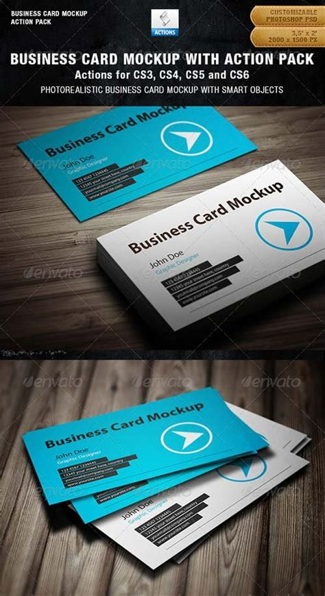 Nabila 3in1 product mockups graphicriver business card mockup with