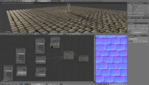 blender tutorial normal map texturing is this normal map upside down or is my setup
