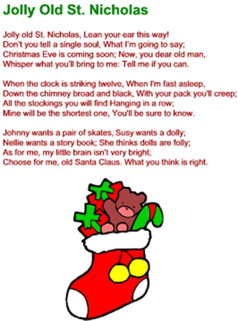 the pattern jolly lyrics image gallery jolly saint nick