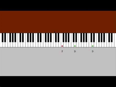 la valse d amelie piano tutorial piano tutorial la valse d amelie by yann tiersen youtube