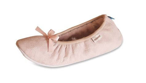 womens soft slippers shepherd genuine sheepskin ballerina slippers soft
