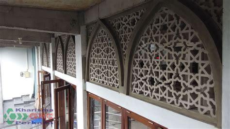 krawangan grc masjid al ittiahaad yogyakarta grc kharisma perkasa