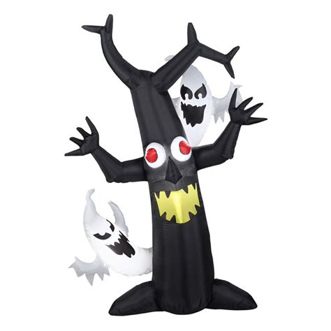 6 ft lighted tree shop northlight 6 ft x 4 ft lighted haunted tree