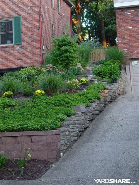 front yard slope landscaping ideas landscaping ideas gt front yard slippery slope solution