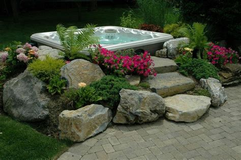 backyard ideas with hot tub backyard ideas budget friendly inspiration decks outdoor