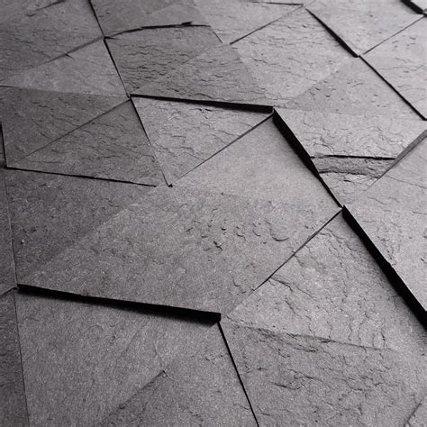 Slate Style Laminate Flooring by Slate Like Tiles Made From Recycled Scrap Paper Laminate