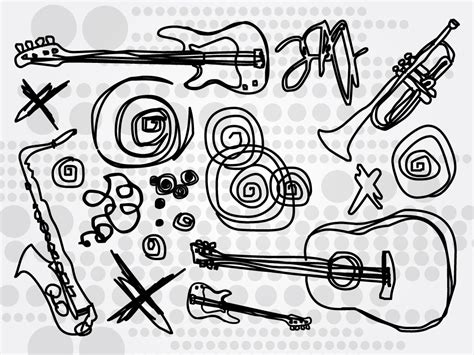 musical doodle free musical instrument doodles