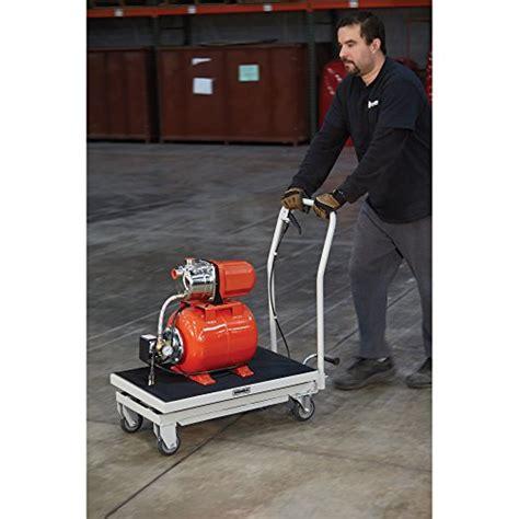 1000 lb capacity hydraulic table cart roughneck hydraulic table cart 1 000 lb capacity