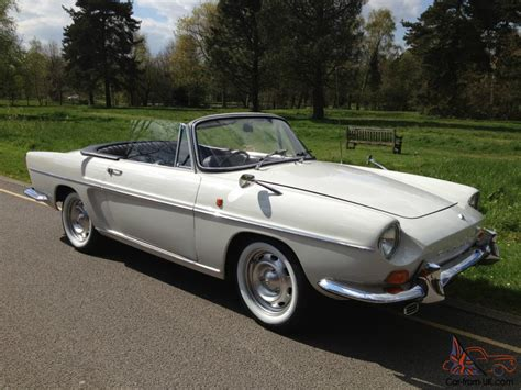 renault caravelle renault caravelle coupe convertible concours condition