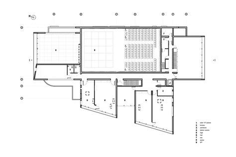 cultural center floor plan sedan cultural center richard schoeller architectes