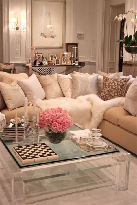 glam home decor romantic living room pictures photos and images for