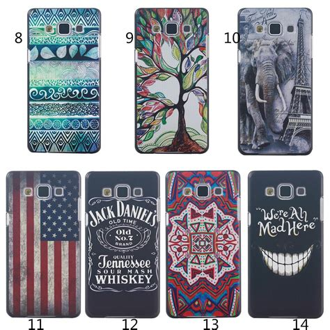 Casing Samsung C5 Pattern 7 Custom Hardcase ultra thin cover for samsung galaxy a5 plastic print phone bag skin elephant wolf