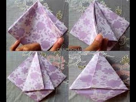 Origami Flower With A4 Paper - how to make paper flower with a4