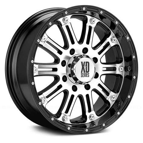 xd series wheels xd series 174 hoss wheels gloss black with machined rims
