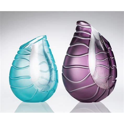 contemporary glass vases contemporary vases i ammonite by richie alli i boha glass