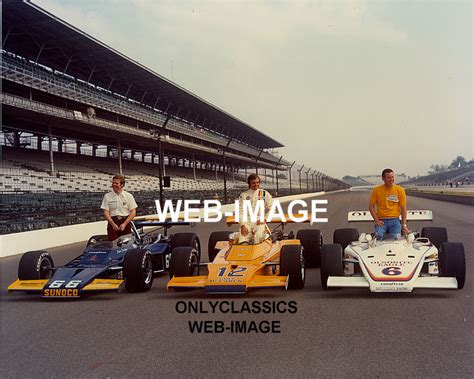 indy boat mart 1972 indy 500 front row mark donohue peter revson bobby