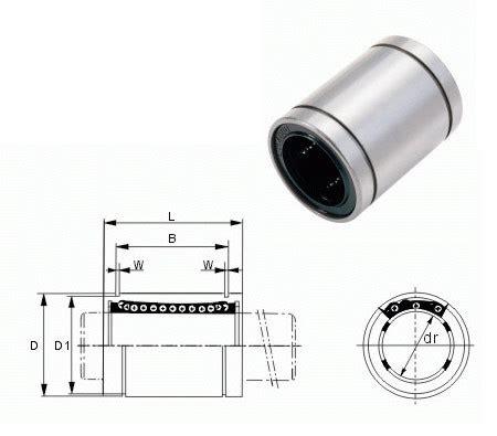 Linear Bearing Bushing Lm12uu 10pcs lm12uu 12mm linear bushing linear bearings cnc parts 3d printer 3dpmav
