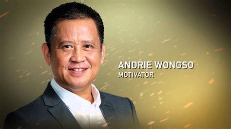 kata kata bijak andrie wongso motivator