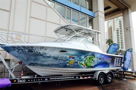 fort lauderdale boat show raffle taco marine fundraiser boat drawing set for nov 5