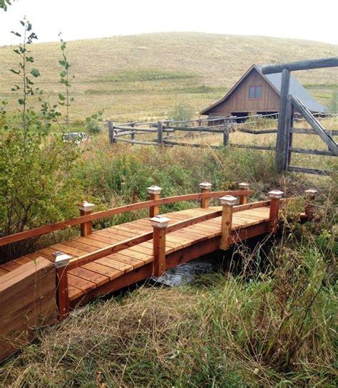 landscape bridges garden bridge farmhouse landscape jacksonville by