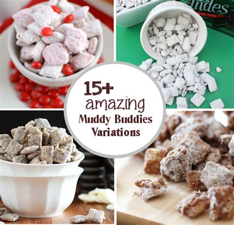 puppy chow recipe variations 15 muddy buddies recipe variations