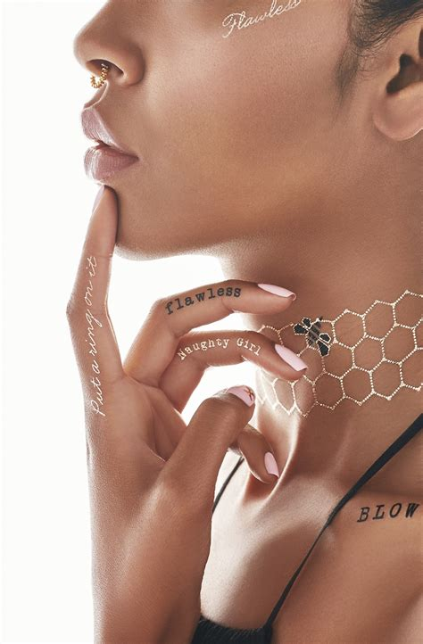 beyonce tattoos beyonce releases line of flash tattoos1966 magazine