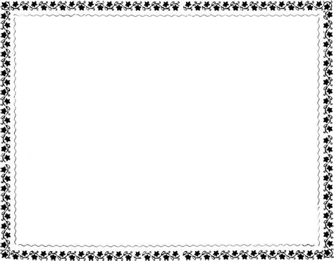 spring border clip art black and white