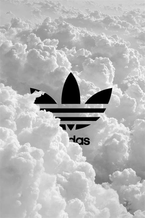 adidas apple wallpaper my two favorite things in one picture adidas and clouds