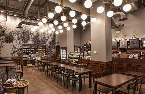 starbucks interior design starbucks opens 1 000th leed certified store starbucks