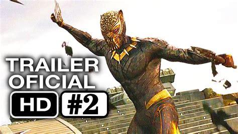 Pelcula Negra by Pantera Negra Trailer 2 Oficial En Espa 241 Ol Hd Marvel