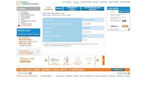 banca di crediti sardo banca di credito sardo numero verde upbank