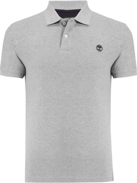 Polo Shirt Timberland timberland organic cotton sleeve polo shirt in gray for medium lyst