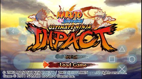 game naruto shippuden ultimate ninja impact  android