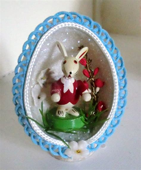 easter egg diorama printable paper craft vintage easter egg diorama my aunt used to make these
